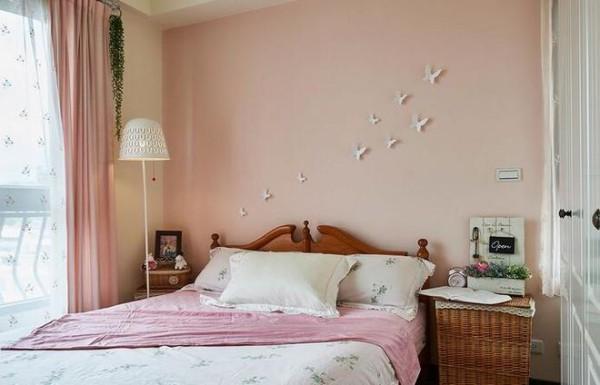 【高清】天鹅堡甜蜜日式乡村婚房 成都高度国际别墅装饰设计 卧室装修设计 成都装修公司
