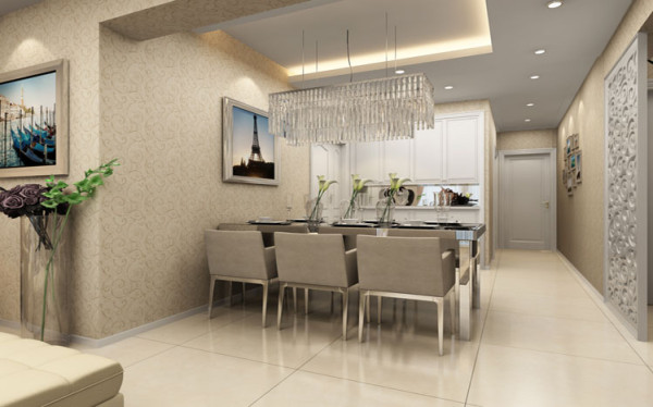 卧室是休息的空间,应当给人一种安详,舒适的空间,多采用温和的饰品搭配。 整体围绕着时尚又不失温馨感的主调,合理的布局,充分完美地运用了空间。