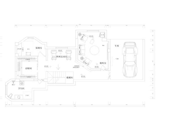 生活家装饰--八仙别墅四居220平米美式乡村