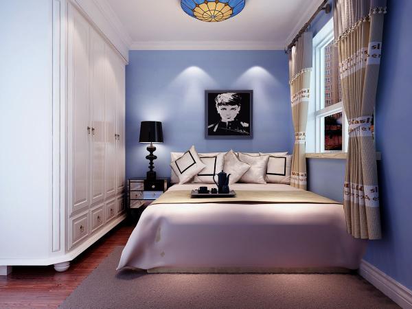 簡約三居客廳臥室餐廳裝修效果圖片_裝修美圖-新浪網