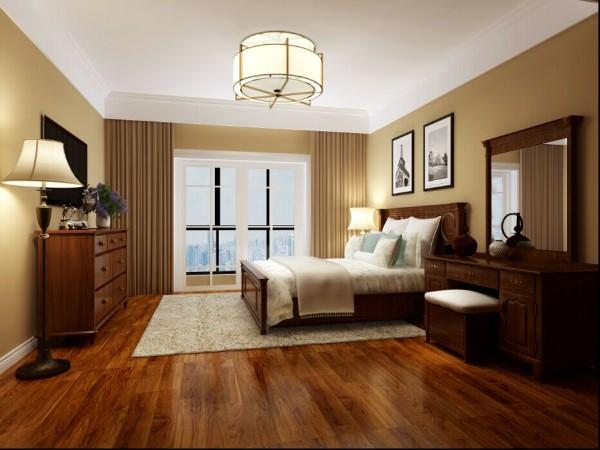 卧室,简欧风格