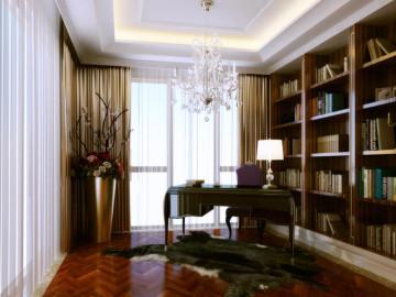 官园公寓150平三居新古典风