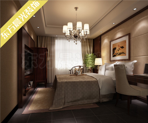整个四合院设计结合中式装修风水以及传统文化的内蕴来合理利用和规划空间,大堂、餐厅和客房的设计采用相似的格调相互呼应而不显突兀。