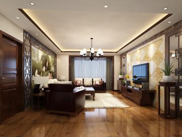 东城华庭150平新中式风格