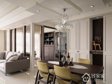 116平美式四居优雅生活风格案例