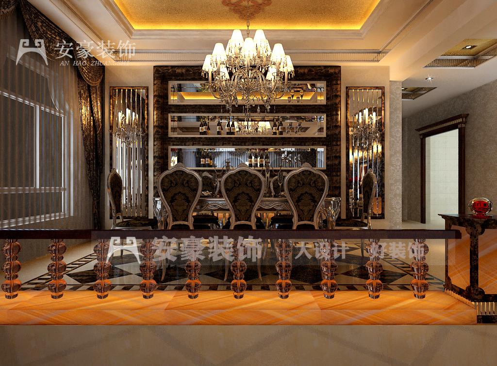 欧式 小资 白领 餐厅图片来自安豪装饰在内森庄园的分享