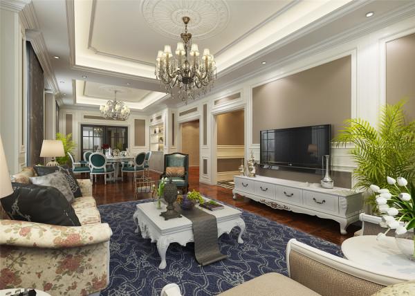 上海庄园别墅户型装修欧美风格设计方案展示,腾龙别墅设计师徐峻作品,欢迎品鉴!