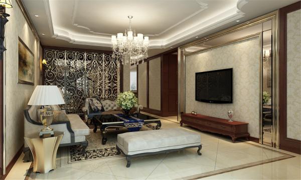 上海庄园恒荣府邸别墅装修美式风格设计方案展示,腾龙别墅设计师周峻作品,欢迎品鉴!