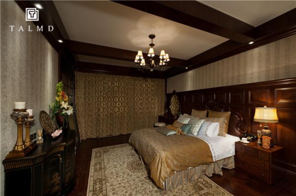 新中式 四居室 家具定制 整屋定制 旧房改造 卧室图片来自talmd图迈家