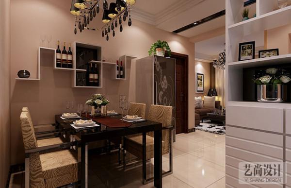 昌建誉峰89平方两室两厅装修效果图