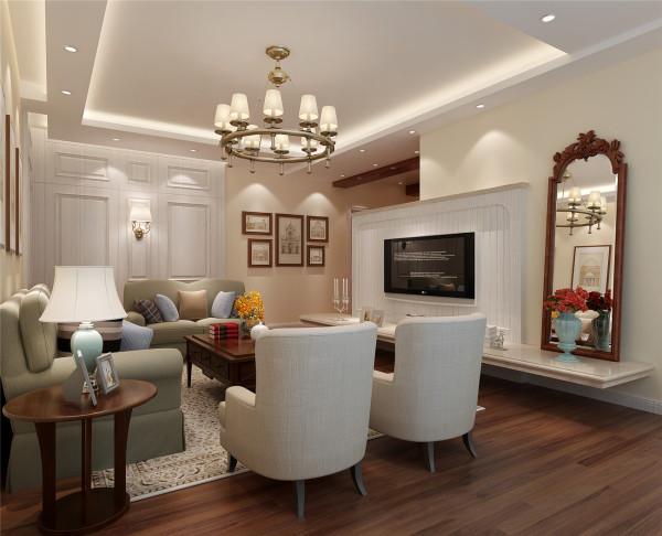 中山公寓装修简美风格设计方案展示,腾龙别墅设计师季蓓菁作品,欢迎品鉴!