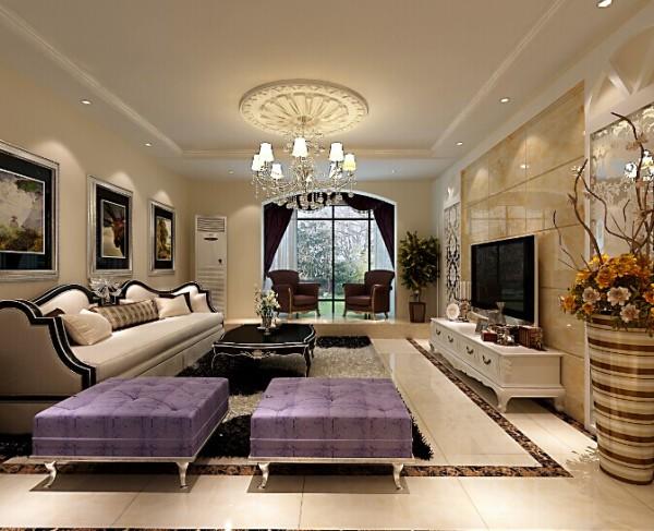 这样的一种设计,简约典雅,给人一种舒适自然的感觉。