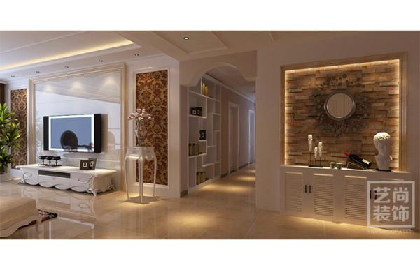 正商玉兰谷138平方三室两厅装修效果图