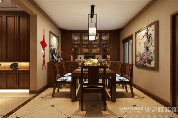 简洁的室内设计虽然显得低调,但装点室内空间的高科技环保材料和元素却能够在其中完全体现本身的品质和质感,在设计上,中式与现代的元素被完美地结合起来