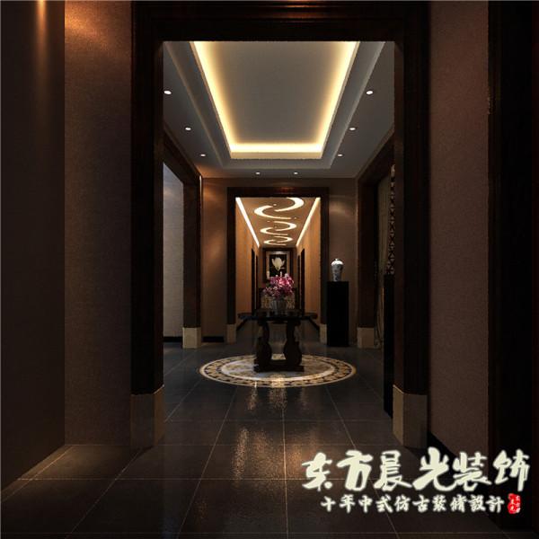 简约淡雅的中式笔触将客厅装修效果图绘制的精致巧妙,中式古典装修风格散播在客厅的每个角落,中式吊顶、背景墙、中式家具、装饰等等...承载着千年的传统文化底蕴。