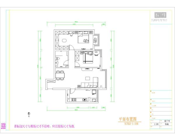 设计说明:现代设计追求的是空间的实用性和灵活性。