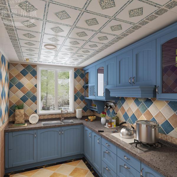 雅巢地中海风格厨房集成吊顶