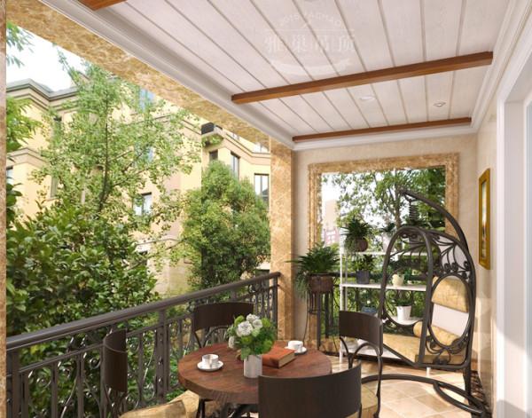 雅巢集成吊顶 阳台花园吊顶效果图