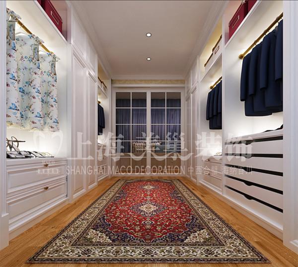 民安北郡120平三室两厅装修简欧效果图——衣帽间,现代式储物空间