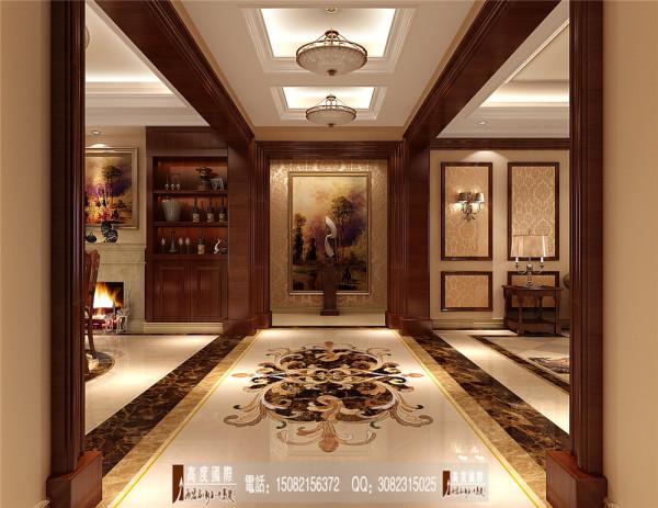南湖国际门厅细节效果图----高度国际装饰设计
