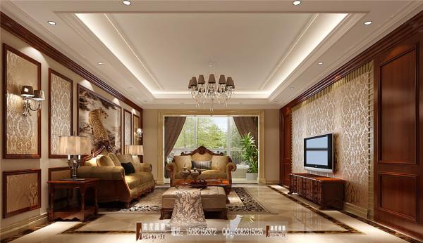 南湖国际客厅细节效果图----高度国际装饰设计