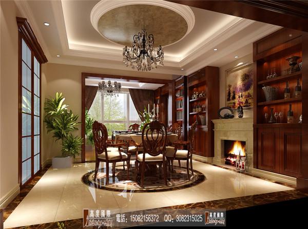 南湖国际餐厅细节效果图----高度国际装饰设计