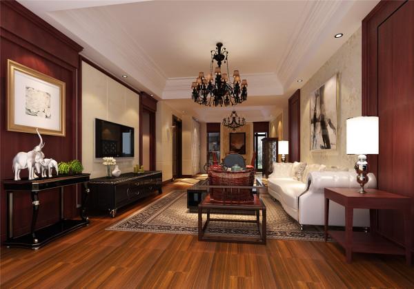 绿地景汇嘉园装修设计欧美风格设计方案展示,腾龙别墅设计师周峻作品,欢迎品鉴