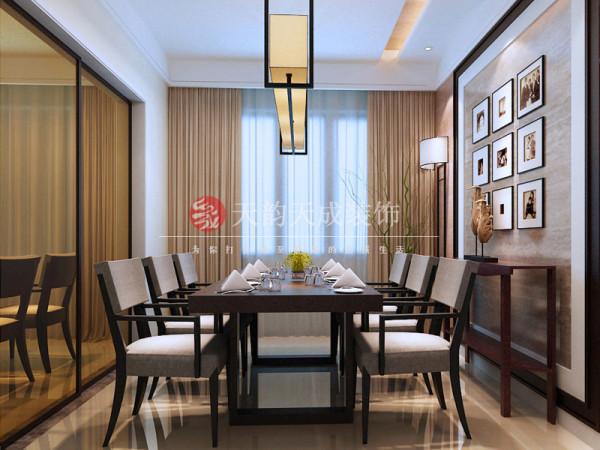 厦门现代风格的餐厅设计效果图