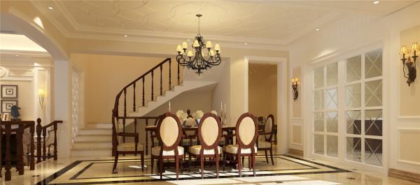 莫奈庄园别墅户型装修简约欧式风格设计方案展示,腾龙别墅设计师劳纳作品,欢迎品鉴