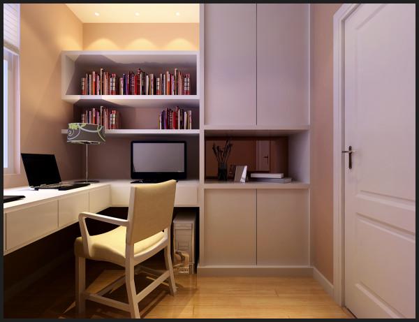 东方国际广场 132平三居室 简约风格装修设计案例 效果图