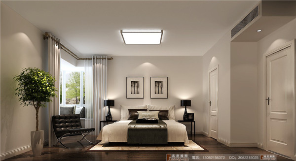 中信城卧室细节效果图----高度国际装饰设计