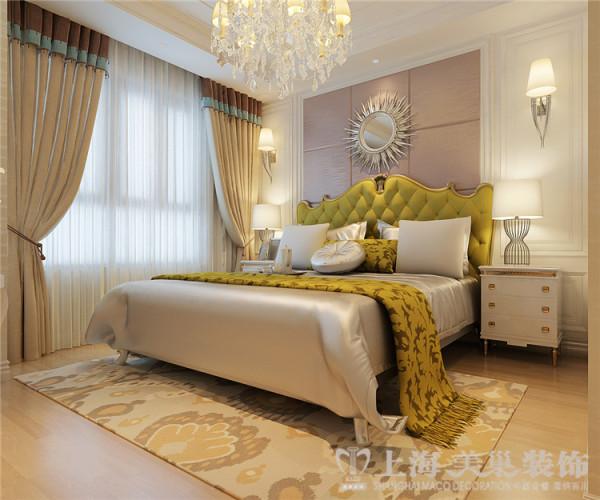 简欧风格装修贰号城邦简欧风格设计案例——卧室效果图