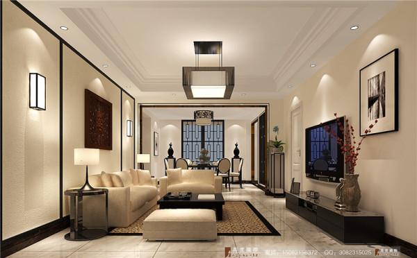 中信城客厅细节效果图----高度国际装饰设计