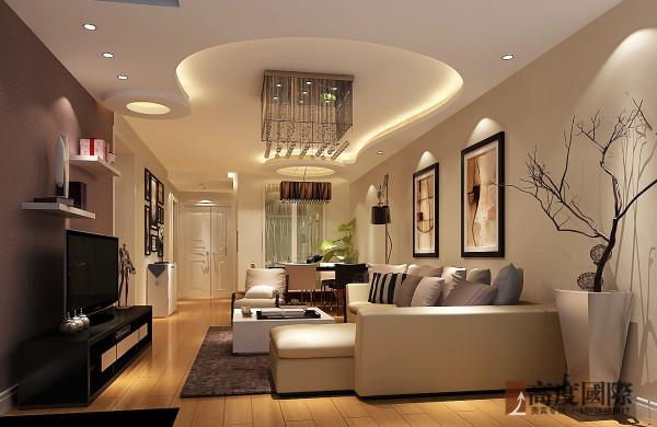 现代简约 高度国际装饰案例赏析 客厅效果图
