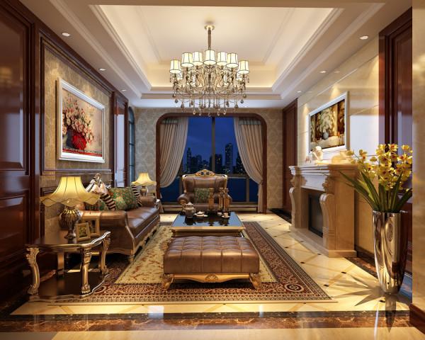 飘鹰锦和花园别墅户型装修新中式风格设计方案展示,腾龙别墅设计师归宏华作品,欢迎品鉴