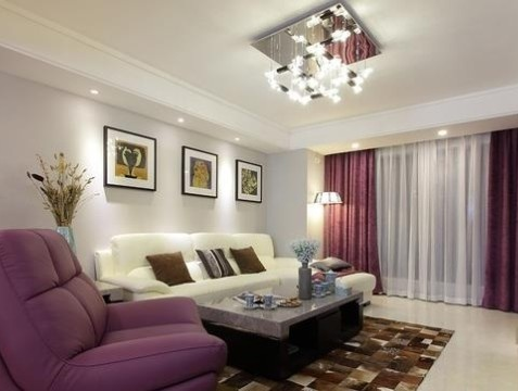 东御兰汀现代风格三居室