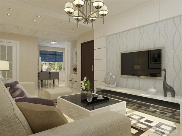本方案是来自淮河园2室1厅1厨1卫85㎡整体的设计中心围绕着简约,简单。力求给业主带来一个简单大方又不失格调的装饰效果。本方案的色调主要还是以白色和米黄色为主。