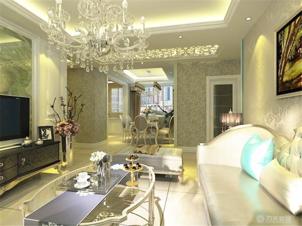 这是一套经蕾花园3室两厅1厨1卫120㎡的户型,设计方案为简欧风格。