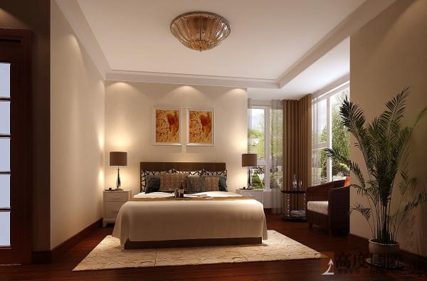 142平中西混搭 高度国际装饰案例  卧室