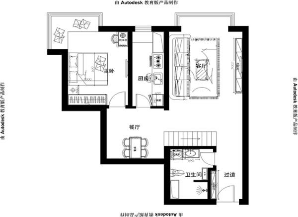 一层平面家居布置图