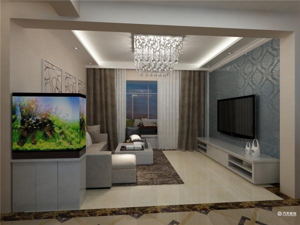 这是一套中信公园城3室两厅1厨1卫110㎡的户型。设计风格为现代简约风格。
