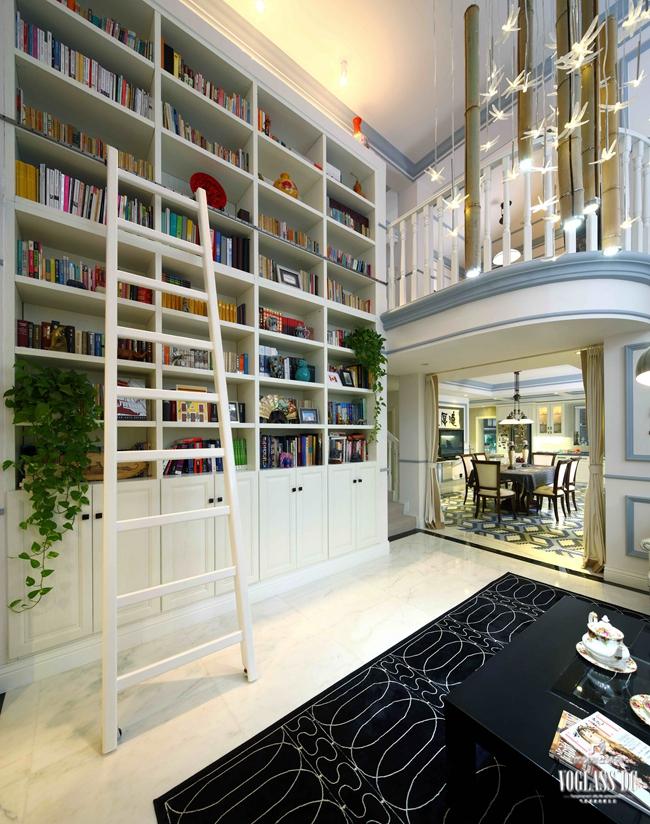 书房图片来自成都尚层别墅装饰装修公司在现代简美风格作品的分享