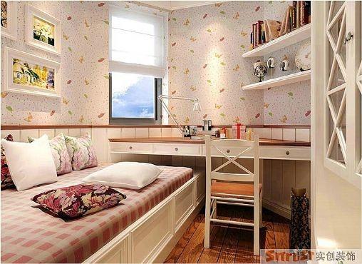 卧室:温馨浪漫的卧室让人灵魂得到放松。