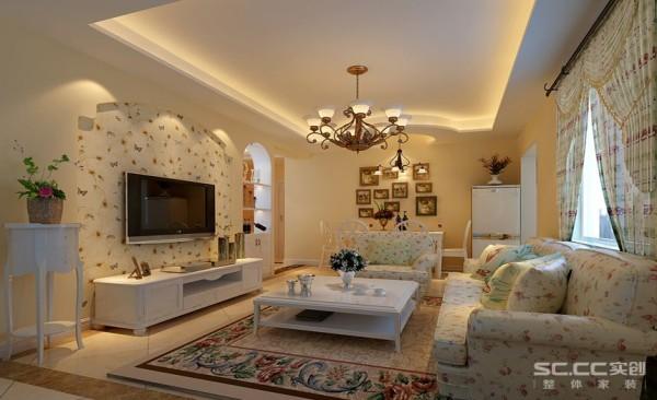 简欧风格--客厅设计图