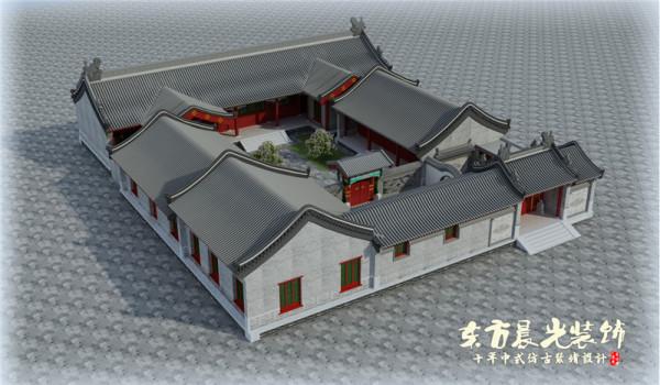 中国四合院建筑设计悠久而浑厚,不管在古代还是在现代,都充分展示着中国人民的聪明才智,独具匠心。