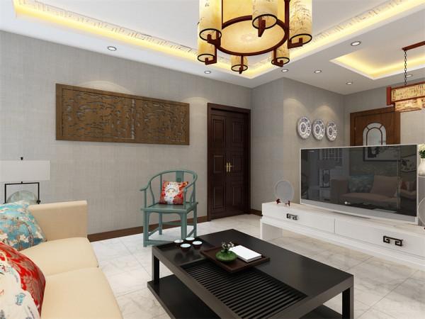 """家是心灵的港湾,本案设计为中式风格,""""中式风格""""是以宫廷建筑为代表的中国古典建筑的室内装饰设计艺术风格,气势恢弘、壮丽华贵、高空间、大进深、雕梁画柱、金碧辉煌。"""