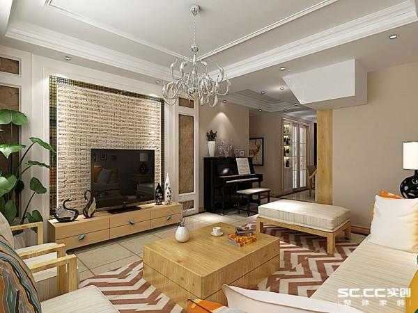 浅色墙漆原木家具 让人舒适舒服