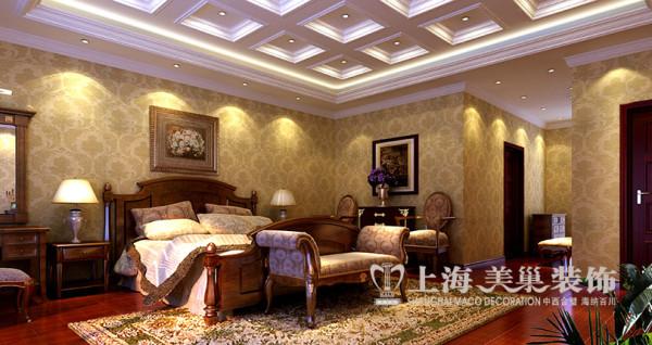 新古典设计银基王朝复式家居装修——卧室