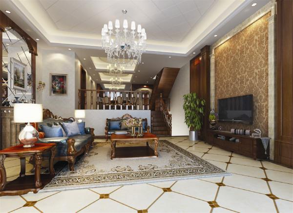 上海假日别墅户型装修简约美式风格设计方案展示,腾龙别墅设计师季蓓菁作品,欢迎品鉴!