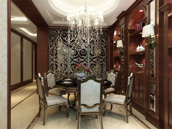 上海院子别墅户型装修美式风格设计方案展示,腾龙别墅设计师成建飞作品,欢迎品鉴!